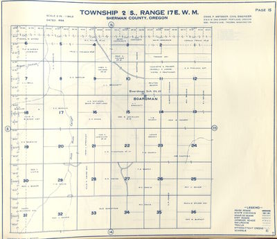 Metsker Map of Searcy Property