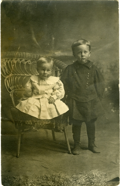 Morris and Owen Searcy portrait