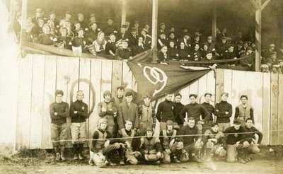 Football Team, ca. 1909
