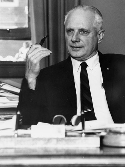 Black and white photograph of James Herbert Jensen.