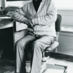 E.B. Lemon at his home in Corvallis