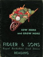 Sow More and Grow More. Fidler & Sons. 1941.